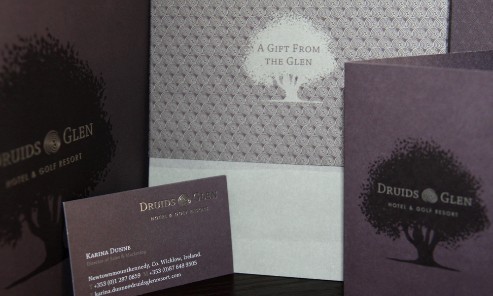 Druids Glen rebrand by Penhouse