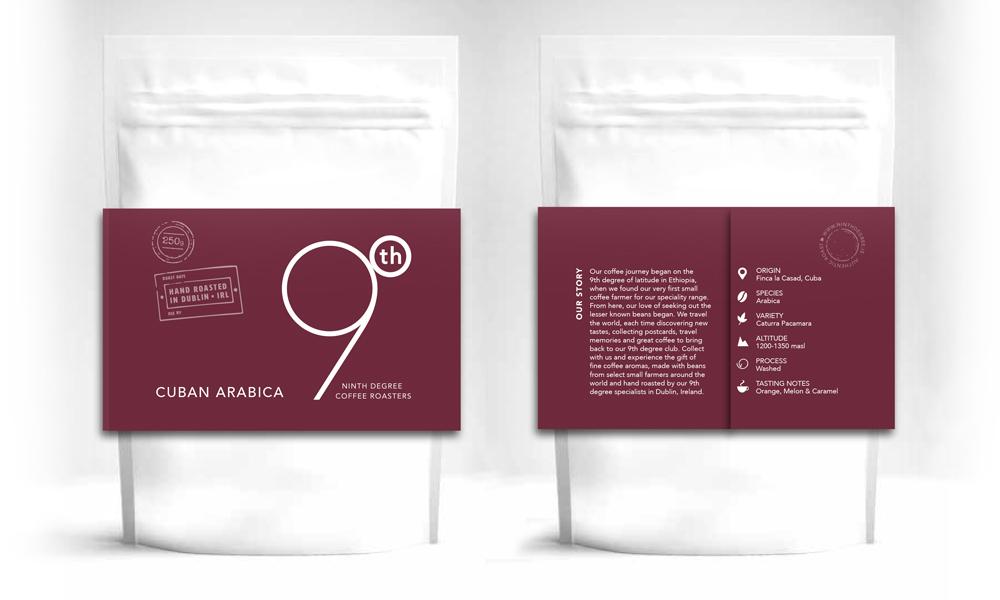 9th Degree coffee design 3