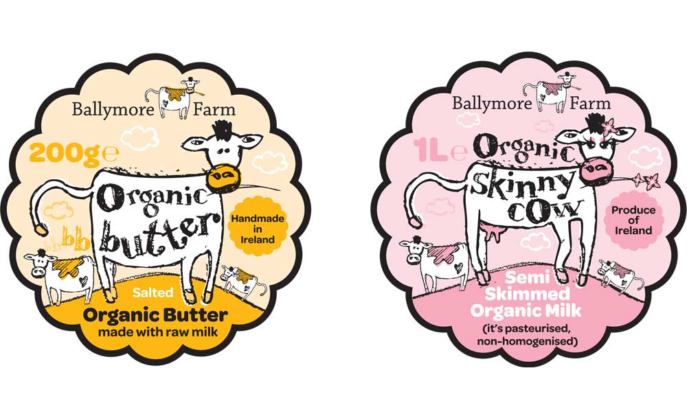 ballymore farm design packaging by Penhouse