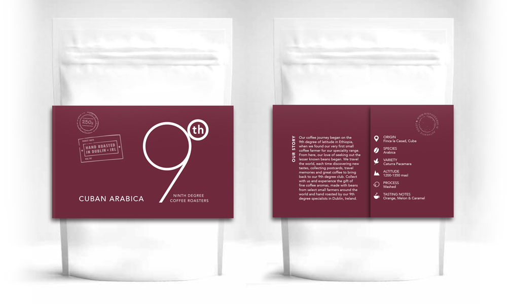 9th Degree coffee design 3