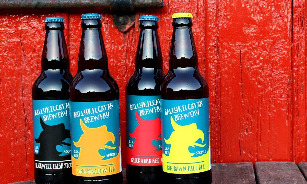 BALLYKilcavan range of beers