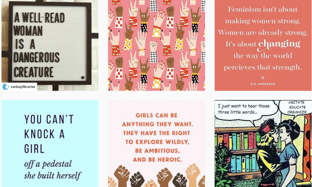 Creative posts for IWD2020