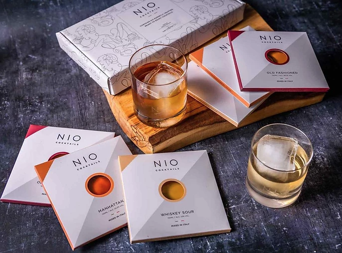 Cocktails Packaged by NIO